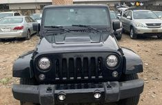 Foreign Used 2017 Black Jeep Wrangler for sale in Lagos.