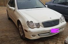 Locally Used 2005 White Mercedes-Benz C240 for sale in Lagos.