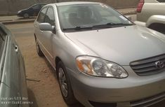 Very Clean Foreign Used Toyota Corolla 2004 Model