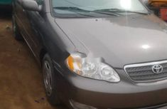 Foreign Used 2005 Grey Toyota Corolla for sale in Lagos
