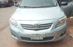 Very Clean Toyota Corolla 2009 Model Naija Used