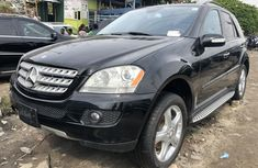 Foreign Used 2008 Black Mercedes-Benz ML350 for sale in Lagos