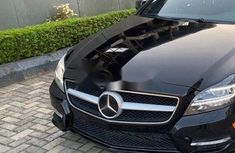 Foreign Used 2012 Black Mercedes-Benz CLS for sale in Lagos