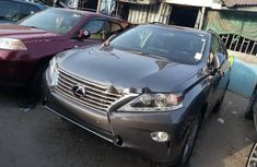 Foreign Used 2015 Grey Lexus RX for sale in Lagos
