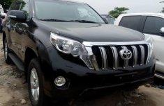 Foreign Used 2016 Black Toyota Land Cruiser Prado for sale in Lagos.