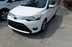 Foreign Used 2015 White Toyota Yaris for sale in Lagos.
