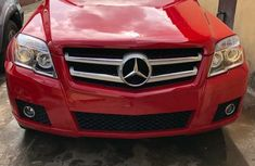 Foreign Used 2010 Red Mercedes-Benz GLK for sale in Lagos.