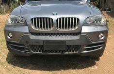 Foreign Used BMW X5 2007 Model Silver