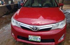 Naija Used Toyota Corolla 2013 red  for sale