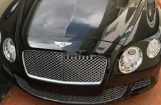 Foreign Used Bentley Continental 2012 Model Black