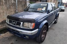 Foreign Used Nissan Frontier 2003 Model Blue