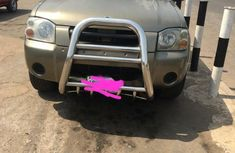 Nigeria Used Nissan Frontier 2004 Model Gold