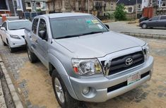 Foreign Used 2008 Silver Toyota Tacoma for sale in Lagos.