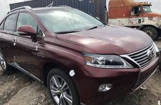 Foreign Used Lexus RX 350 2013 Model