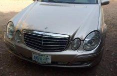Nigeria Used Mercedes-Benz E320 2007 Model Gold