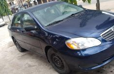 Foreign Used 2006 Dark Blue Toyota Corolla for sale in Lagos.