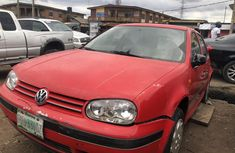 Nigeria Used Volkswagen Golf 2005 Model Red