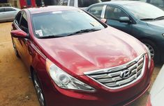 Foreign Used Hyundai Sonata 2011 Model Red