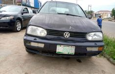 Nigeria Used Volkswagen Golf 1998 Model Blue