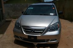 Foreign Used Honda Odyssey 2006 Model Silver
