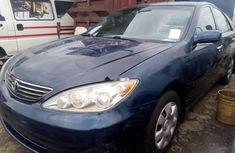 Foreign Used 2006 Dark Blue Toyota Camry for sale in Lagos.