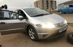 Foreign Used 2009 Silver Honda Civic for sale in Lagos.