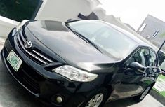 Used 2013 Black Toyota Corolla for sale in Lagos.