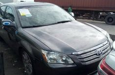 Foreign Used 2008 Grey Toyota Avalon for sale in Lagos.