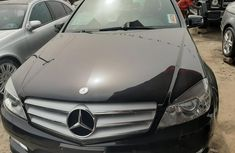Foreign Used 2009 Black Mercedes-Benz C350 for sale in Lagos.