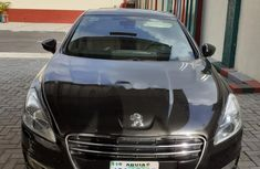 Nigeria Used Peugeot 508 2013 Model Black