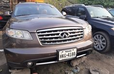 Foreign Used 2007 Brown Infiniti FX for sale in Lagos.