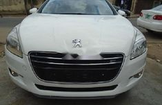 Foreign Used Peugeot 508 2005 Model White