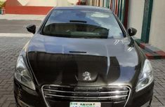 Nigeria Used Peugeot 508 2014 Model Gray
