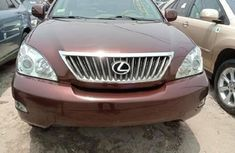 Foreign Used Lexus RX 2009 Model Red