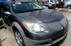 Foreign Used Pontiac Vibe 2008 Model Gray
