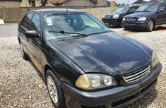 Nigeria Used Toyota Avensis 2000 Model Black