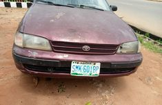 Nigeria Used Toyota Carina 1999 Model Red