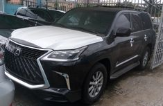 Foreign Used Lexus LX 2010 Model Black