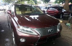Foreign Used Lexus RX 2015 Model Red