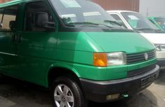 Foreign Used 1998 Green Volkswagen Transporter for sale in Lagos.