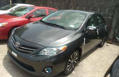 Foreign Used Toyota Corolla 2013 Model Gray
