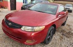 Nigeria Used Toyota Solara 2000 Model Red