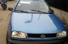 Nigeria Used Volkswagen Golf 3 1990 Model Blue