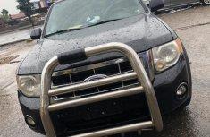 Naija Used 2012 Black Ford Escape for sale in Lagos.