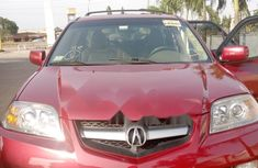 Foreign Used Honda Acrura 2005 Model Red