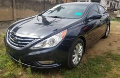 Foreign Used 2012 Blue Hyundai Sonata for sale in Lagos.