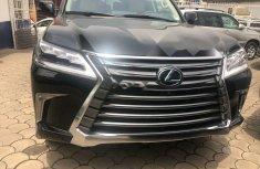 Foreign Used Lexus LX 2018 Model Black