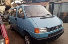 Foreign Used Volkswagen Transporter 2001 Model Blue