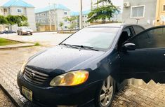 Locally Used 2004 Blue Toyota Corolla for sale in Abuja.