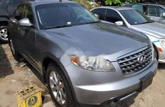 Foreign Used Infiniti FX 2007 Model Gray